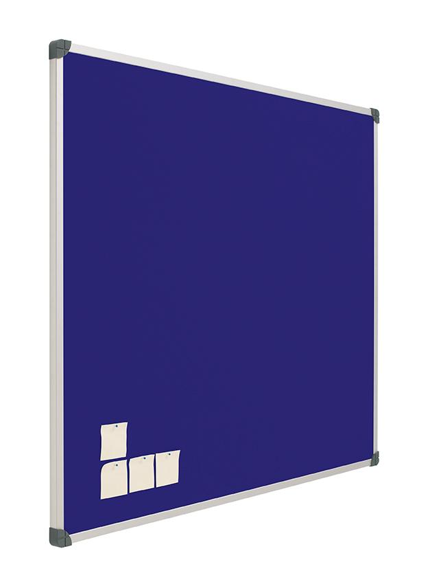 tablero de anuncios tapizado